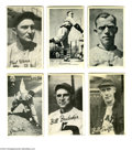 Autographs:Others, 1930's Pittsburgh Pirates Signed Premiums with Paul Waner....
