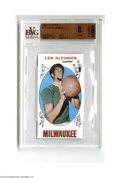 Basketball Cards:Singles (Pre-1970), 1969 Topps Lew Alcindor #25 BVG NM-MT 8....