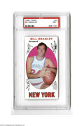 Basketball Cards:Singles (Pre-1970), 1969 Topps Bill Bradley #43 PSA NM 7....