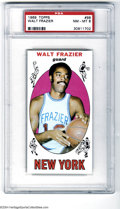 Basketball Cards:Singles (Pre-1970), 1969 Topps Walt Frazier #98 PSA NM-MT 8....