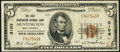 National Bank Notes:West Virginia, Huntington, WV - $5 1929 Ty. 1 The First Huntington NB Ch. # 3106 Fine.. ...