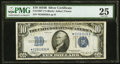 Small Size:Silver Certificates, Fr. 1703* $10 1934B Silver Certificate. PMG Very Fine 25.. ...