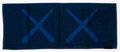 Collectible:Contemporary, KAWS X AllRightsReserved. KAWS Holiday Towel (Navy), 2018. Cotton towel. 13 x 33-3/4 inches (33 x 85.7 cm). Produced by ...