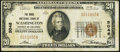 National Bank Notes:District of Columbia, Washington, DC - $20 1929 Ty. 1 The Riggs NB Ch. # 5046 Fine-Very Fine.. ...