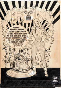 Will Eisner (attributed) PS: The Preventive Maintenance Monthly Story Page Original Art (Dept. of the Army/LOGSA