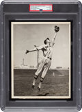 Baseball Collectibles:Photos, 1937 Ted Williams San Diego Padres Minor League Original News Photograph, PSA/DNA Type 1. ...