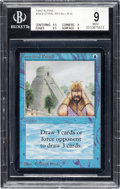 Memorabilia:Trading Cards, Magic: The Gathering Alpha Edition Ancestral Recall BGS 9 (Wizards of the Coast 1993)....