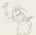 Animation Art:Production Drawing, Dr. Seuss' How the Grinch Stole Christmas Grinch Animation Drawing (MGM, 1966).. ...