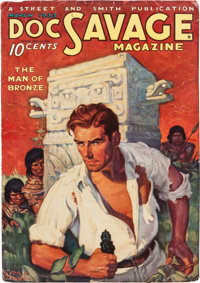Doc Savage - March 1933 (Street & Smith) Condition: Apparent FN-