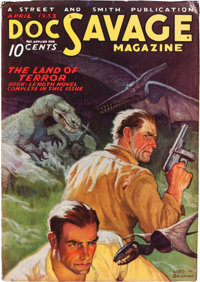 Doc Savage - April 1933 (Street & Smith) Condition: FN-