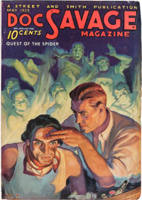 Doc Savage - May 1933 (Street & Smith) Condition: FN-