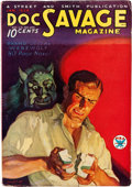 Pulps:Hero, Doc Savage - January 1934 (Street & Smith) Condition: FN-....