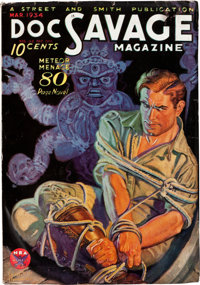 Doc Savage - March 1934 (Street & Smith) Condition: FN-