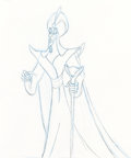Animation Art:Production Drawing, Aladdin Jafar Animation Drawings Group of 3 (Walt Disney, 1992). . ... (Total: 3 Original Art)