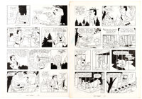 Harvey Eisenberg Hey There, It's Yogi Bear #1 Pages 10 and 11 Original Art Group (Gold Key, 1964).... (Total: 2 Original...