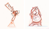 Beauty and the Beast Animation Drawings Group of 2 (Walt Disney, 1991).... (Total: 2 Original Art)