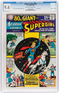 Silver Age (1956-1969):Superhero, Action Comics #334 (DC, 1966) CGC NM+ 9.6 Off-white to whitepages....