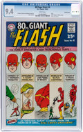 Silver Age (1956-1969):Superhero, 80 Page Giant #4 The Flash - Pacific Coast Pedigree (DC, 1964) CGCNM 9.4 White pages....