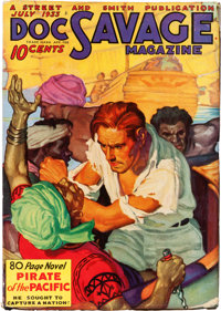 Doc Savage - July 1933 (Street & Smith) Condition: FN-