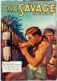Doc Savage - September 1933 (Street & Smith) Condition: FN-