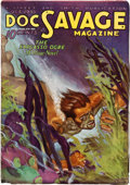 Pulps:Hero, Doc Savage - October 1933 (Street & Smith) Condition: FN-....