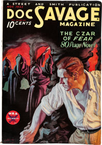 Doc Savage - November 1933 (Street & Smith) Condition: FN-