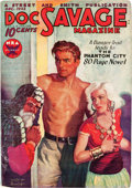 Pulps:Hero, Doc Savage - December 1933 (Street & Smith) Condition: FN-....
