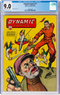 Golden Age (1938-1955):Superhero, Dynamic Comics #14 (Chesler, 1945) CGC VF/NM 9.0 Off-white to white pages....