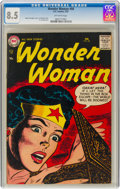 Silver Age (1956-1969):Superhero, Wonder Woman #88 (DC, 1957) CGC VF+ 8.5 Off-white pages....