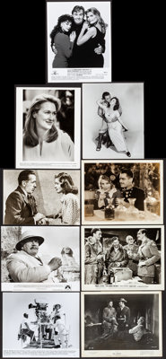 The Dawn Patrol & Other Lot (Warner Brothers, 1938) Overall: Very Fine-. Photos (459), Mini Lobby Card Sets of 8 (3...
