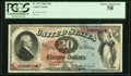 Fr. 127 $20 1869 Legal Tender PCGS Choice About New 58