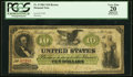 Fr. 8 $10 1861 Demand Note PCGS Apparent Very Fine 20