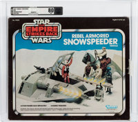Star Wars: The Empire Strikes Back Rebel Armored Snowspeeder Vehicle Blue Box Variant (Kenner, 1982) Condition: AFA NM...