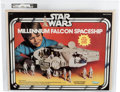 Memorabilia:Science Fiction, Star Wars Millennium Falcon Spaceship (Kenner, 1979) Condition: AFA Qualified 80 NM....