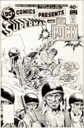 Original Comic Art:Covers, Ross Andru and Dick Giordano DC Comics Presents #10 Cover Original Art (DC, 1979)....