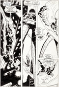 Original Comic Art:Panel Pages, Gene Colan and George Klein Daredevil #48 Story Page 16 Original Art (Marvel, 1969)....