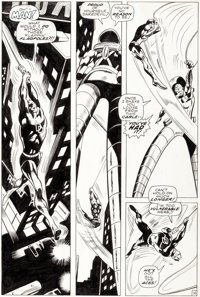 Gene Colan and George Klein Daredevil #48 Story Page 16 Original Art (Marvel, 1969)