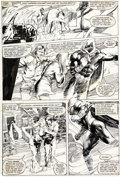 Original Comic Art:Panel Pages, Bill Sienkiewicz Moon Knight #23 Story Page 12 Original Art (Marvel, 1982)....