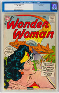 Silver Age (1956-1969):Superhero, Wonder Woman #89 (DC, 1957) CGC VF 8.0 Cream to off-white pages....