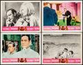 """Movie Posters:James Bond, Goldfinger/Dr. No Combo (United Artists, R-1966). Very Fine-. Lobby Cards (4) (11"""" X 14""""). James Bond.. ... (Total: 4 Items)"""