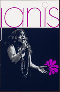"""Movie Posters:Rock and Roll, Janis by David Nordahl (Pandora Productions, 1969). Rolled, Very Fine+. Silk Screen Poster (22"""" X 34""""). Rock and Roll.. ..."""