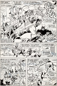 Gene Colan and John Tartaglione Not Brand Echh #8 page 4 Original Art (Marvel, 1968)