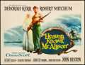 "Movie Posters:Drama, Heaven Knows, Mr. Allison (20th Century Fox, 1957). Very Fine on Paper. Half Sheet (22"" X 28""). Drama.. ..."