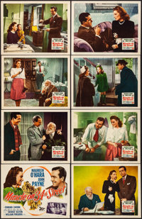 "Miracle on 34th Street (20th Century Fox, 1947). Overall: Fine/Very Fine. Lobby Card Set of 8 (11"" X 14""). Com..."