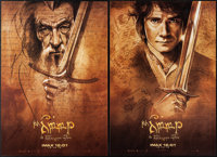 """The Hobbit: An Unexpected Journey (New Line, 2012). Rolled, Near Mint. IMAX Exclusive Mini Poster Set of 4 (13.5"""" X..."""