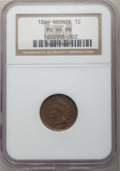Indian Cents, 1864 1C Bronze No L MS64 Brown NGC. NGC Census: (115/106). PCGS Population: (170/83). CDN: $165 Whsle. Bid for problem-free...