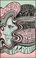 """Movie Posters:Rock and Roll, Grateful Dead at the Fillmore (Bill Graham Presents, 1967).Fine/Very Fine. Second Printing Concert Poster (13.75"""" X 22.25"""")..."""