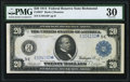 Fr. 982 $20 1914 Federal Reserve Note PMG Very Fine 30