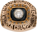 Football Collectibles:Others, 1972 Miami Dolphins Super Bowl VII Championship Ring Presented to Offensive Tackle Wayne Moore....