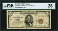 Small Size:Federal Reserve Bank Notes, Fr. 1850-F* $5 1929 Federal Reserve Bank Star Note. PMG Very Fine 25.. ...